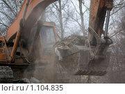 Купить «Снос хрущевки», фото № 1104835, снято 17 января 2008 г. (c) Zelenograd.ru / Фотобанк Лори