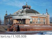 Купить «Краевой цирк в Хабаровске», фото № 1105939, снято 8 января 2009 г. (c) Петроченко Мария Петровна / Фотобанк Лори
