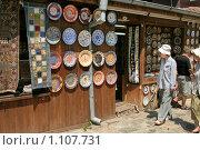 Народный промысел. Болгария, г.Несебр (2009 год). Стоковое фото, фотограф Александр Демин / Фотобанк Лори