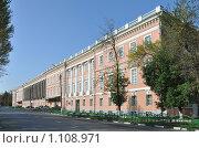 Купить «Екатерининский Дворец на Яузе», фото № 1108971, снято 22 сентября 2009 г. (c) Олег Рыбаков / Фотобанк Лори