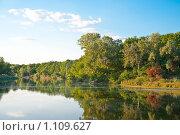 Летний пейзаж. Стоковое фото, фотограф Сергей Галушко / Фотобанк Лори