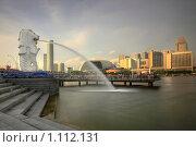 Мерлион, Сингапур (2008 год). Редакционное фото, фотограф Юсупов Сергей / Фотобанк Лори