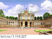 Павильон в северной части дворцового комплекса Цвингер,Дрезден, Германия (2009 год). Стоковое фото, фотограф Vitas / Фотобанк Лори