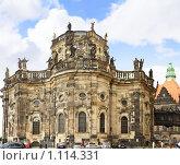 Католическая церковь-Хофкирхе,восточная часть,  Дрезден,Германия (2009 год). Стоковое фото, фотограф Vitas / Фотобанк Лори