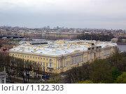 Санкт-Петербург с крыши Исаакиевского собора (2009 год). Стоковое фото, фотограф Дмитрий Сузан / Фотобанк Лори