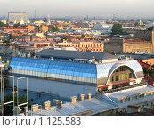 Санкт-Петербург с высоты птичьего полета (2008 год). Стоковое фото, фотограф Ноева Елена / Фотобанк Лори