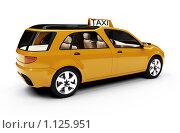 Купить «Такси будущего», иллюстрация № 1125951 (c) ИЛ / Фотобанк Лори