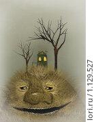 Купить «На холме», иллюстрация № 1129527 (c) Андреева Екатерина / Фотобанк Лори
