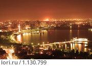 Купить «Баку ночью», фото № 1130799, снято 6 июня 2006 г. (c) Elnur / Фотобанк Лори