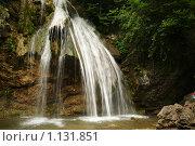Водопад. Стоковое фото, фотограф Виктор Агеев / Фотобанк Лори