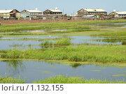 Поселок Батагай. Якутия (2006 год). Стоковое фото, фотограф Анна Зеленская / Фотобанк Лори