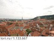 Чехия. Вид с холма (2009 год). Стоковое фото, фотограф Чехов Дмитрий Валерьевич / Фотобанк Лори