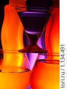 Бокалы и вазы. Стоковое фото, фотограф Акимов Евгений / Фотобанк Лори
