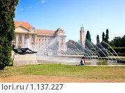 Купить «Здание университета в Европе», фото № 1137227, снято 19 апреля 2019 г. (c) Алексей Хромушин / Фотобанк Лори
