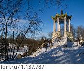 Купить «Китайская беседка Большого Каприза», фото № 1137787, снято 19 февраля 2008 г. (c) Светлана Щекина / Фотобанк Лори