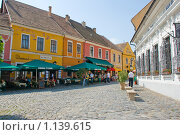 Цветная улочка в Европе (2009 год). Редакционное фото, фотограф Чехов Дмитрий Валерьевич / Фотобанк Лори
