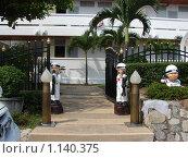 Купить «Таиланд, Патая, около отеля», фото № 1140375, снято 15 марта 2009 г. (c) Елена Воронкова / Фотобанк Лори