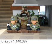 Купить «Тайланд, Патая, скульптурная композиция», фото № 1140387, снято 15 марта 2009 г. (c) Елена Воронкова / Фотобанк Лори