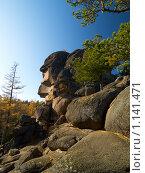 """Купить «Заповедник """"Столбы""""», фото № 1141471, снято 2 октября 2009 г. (c) Andrey M / Фотобанк Лори"""