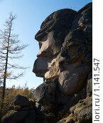 """Купить «Заповедник """"Столбы""""», фото № 1141547, снято 2 октября 2009 г. (c) Andrey M / Фотобанк Лори"""