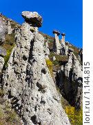 Каменные грибы, фото № 1144815, снято 19 сентября 2009 г. (c) Argument / Фотобанк Лори