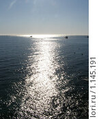 Солнечная дорожка на море. Стоковое фото, фотограф Николай Иванов / Фотобанк Лори