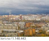 Купить «Вид на Красноярск с Караульной горы», фото № 1148443, снято 6 октября 2009 г. (c) Andrey M / Фотобанк Лори