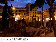 Купить «Развалины, где убили Цезаря, Рим», фото № 1148967, снято 23 августа 2009 г. (c) Оксана Кацен / Фотобанк Лори