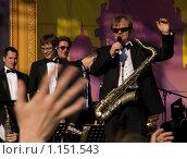 Джазмен И.Бутман (2009 год). Редакционное фото, фотограф Олег Федулов / Фотобанк Лори