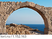 Древние арки в Курион, Кипр (2009 год). Стоковое фото, фотограф Кузнецова Юлия (aka Syaochka) / Фотобанк Лори