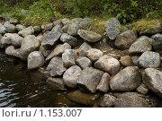 Купить «Соловецкие острова. Берег канала между озерами.», фото № 1153007, снято 12 сентября 2009 г. (c) Михаил Ворожцов / Фотобанк Лори