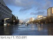 Воркута, улица Ленина (2009 год). Редакционное фото, фотограф Оксана Кабрина / Фотобанк Лори