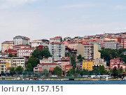 Купить «Разноцветные дома Стамбула», фото № 1157151, снято 2 мая 2008 г. (c) Лилия Барладян / Фотобанк Лори