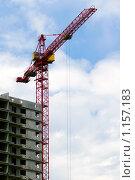 Купить «Подъемный кран», фото № 1157183, снято 6 июня 2008 г. (c) Лилия Барладян / Фотобанк Лори