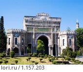 Купить «Арка Университета в Стамбуле», фото № 1157203, снято 1 мая 2008 г. (c) Лилия Барладян / Фотобанк Лори