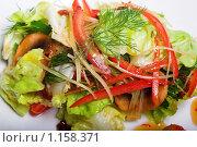 Купить «Закуска с креветками», фото № 1158371, снято 12 мая 2009 г. (c) Коваль Василий / Фотобанк Лори