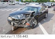 Разбитая машина. Авария. Стоковое фото, фотограф Тимур Аникин / Фотобанк Лори