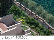 """Купить «Отель """"Dubrovnik Palace"""", аллея», фото № 1160535, снято 4 сентября 2009 г. (c) Сергей Бесчастный / Фотобанк Лори"""