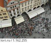 Люди на площади (2008 год). Редакционное фото, фотограф Марина Животягина / Фотобанк Лори