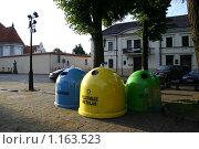 Контейнеры для мусора (2008 год). Редакционное фото, фотограф Алексеев Борис / Фотобанк Лори