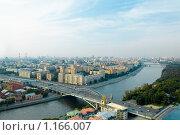 Купить «Вид на Москву», фото № 1166007, снято 28 мая 2018 г. (c) Абашева Татьяна Шамилевна / Фотобанк Лори