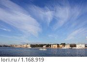 Облака над Невой (2009 год). Стоковое фото, фотограф Татьяна Иванова / Фотобанк Лори