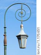 Купить «Уличный фонарь на Фонарном мосту. Санкт-Петербург», эксклюзивное фото № 1170651, снято 29 мая 2009 г. (c) Александр Щепин / Фотобанк Лори