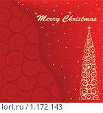 Купить «Рождественская иллюстрация», иллюстрация № 1172143 (c) Наталия Каупонен / Фотобанк Лори