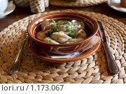 Купить «Традиционная русская еда: пельмени», фото № 1173067, снято 22 февраля 2009 г. (c) Ярослава Синицына / Фотобанк Лори