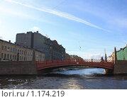 Красный мост (2009 год). Стоковое фото, фотограф Татьяна Иванова / Фотобанк Лори