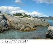 Купить «Вид на море и берег», фото № 1177547, снято 20 сентября 2009 г. (c) Neta / Фотобанк Лори