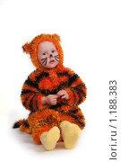 Купить «Девочка - тигренок», фото № 1188383, снято 2 ноября 2009 г. (c) Ирина Солошенко / Фотобанк Лори