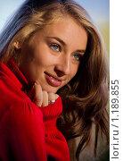 Купить «Дама в красном», фото № 1189855, снято 9 октября 2009 г. (c) Вероника Галкина / Фотобанк Лори