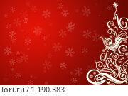 Новогодний фон. Стоковая иллюстрация, иллюстратор Кочкаева Светлана Сергеевна / Фотобанк Лори